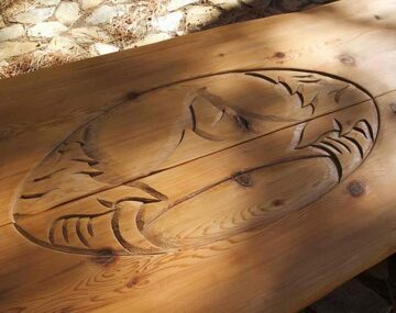 10-hand-carved-picnic-table