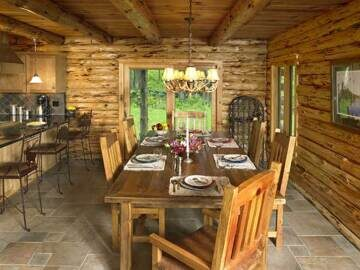 pennsylvania_log_home_dining_room