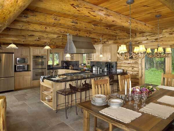 pennsylvania_log_home_kitchen
